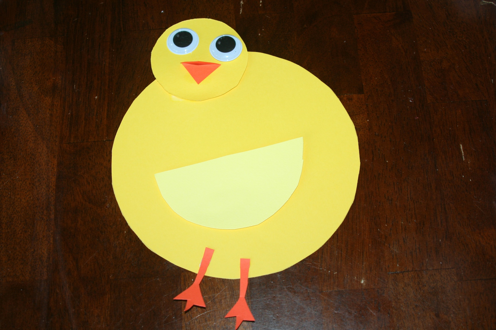 Duck Craft Using Paper