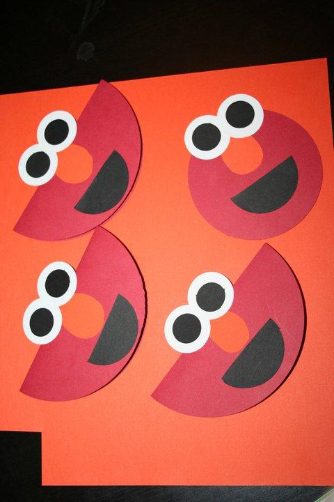 Sesame Street Birthday Party – Homemade Elmo Birthday Invitations