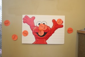sesame street birthday game ideas