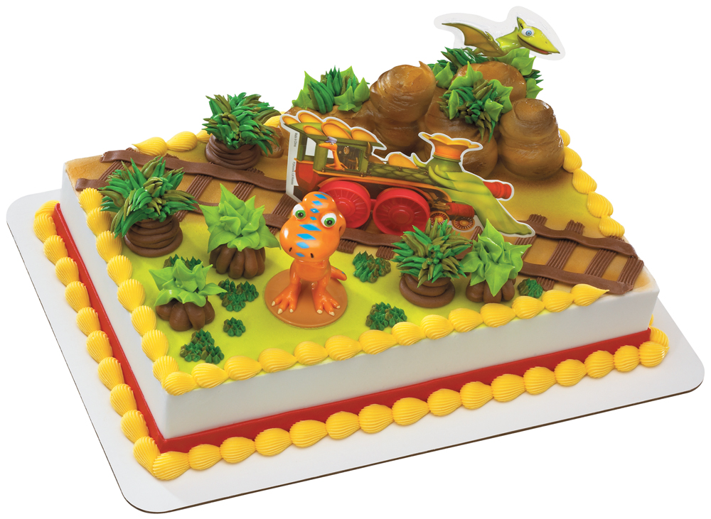 Giveaway: Dinosaur Train Cake Decorating Set and Dinosaur ...