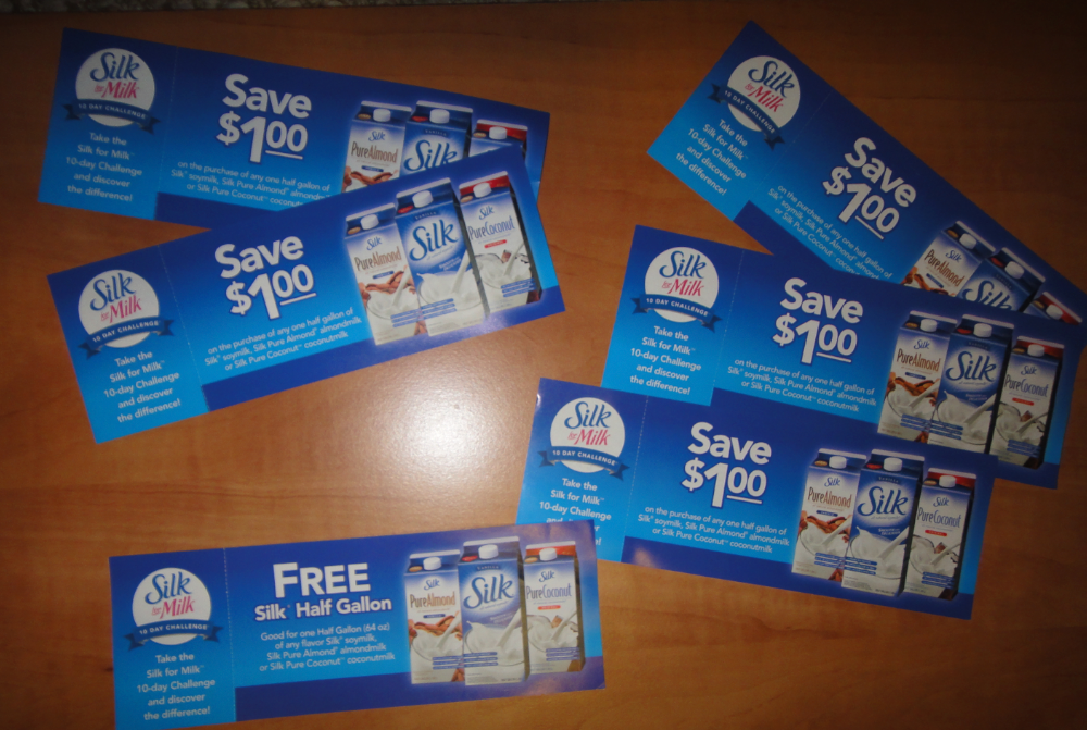 Silk Soy Milk One Free Coupon And Five 1 00 1 Coupons Giveaway