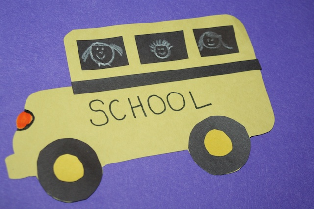 Crafty Tuesday Back to School Craft: Construction Paper